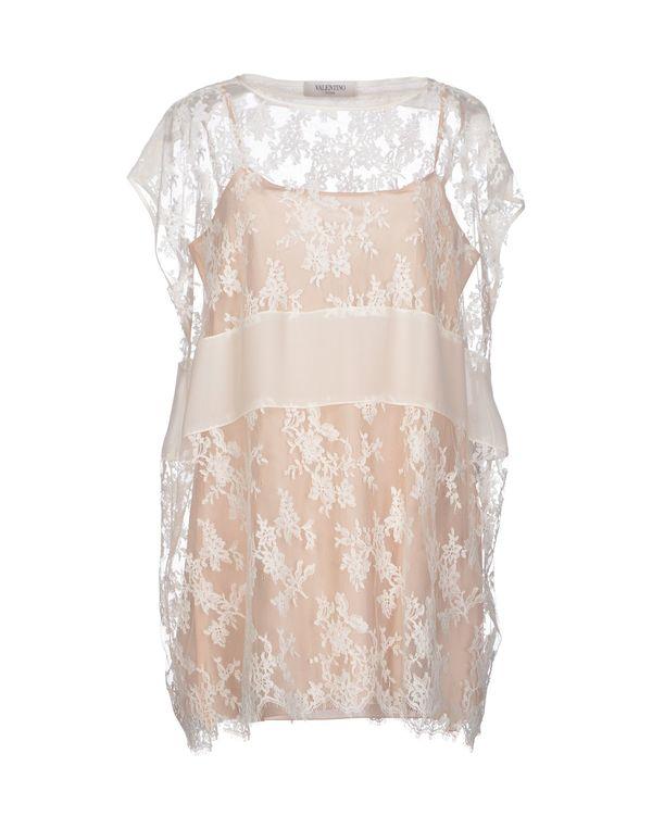 白色 VALENTINO ROMA 女士衬衫