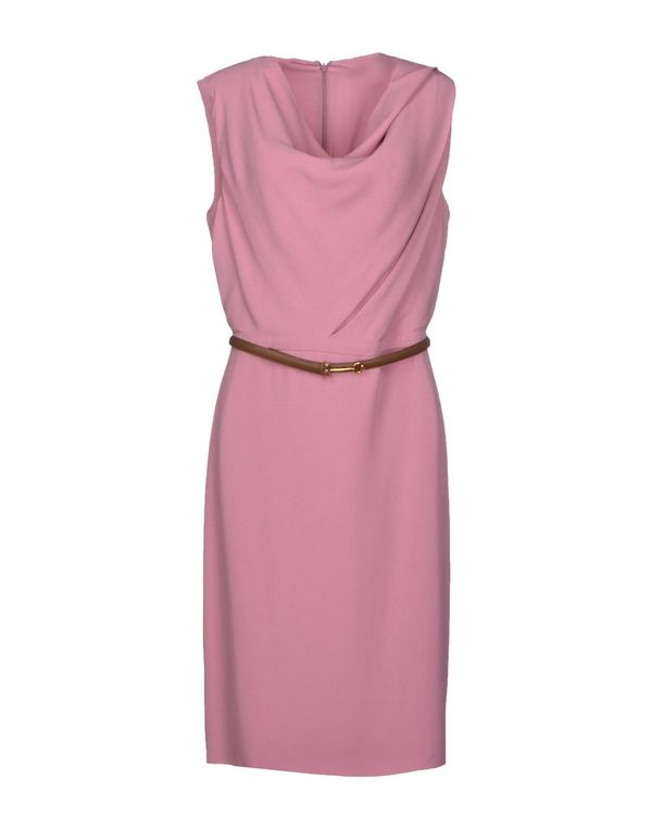 浅紫色 GUCCI 及膝连衣裙