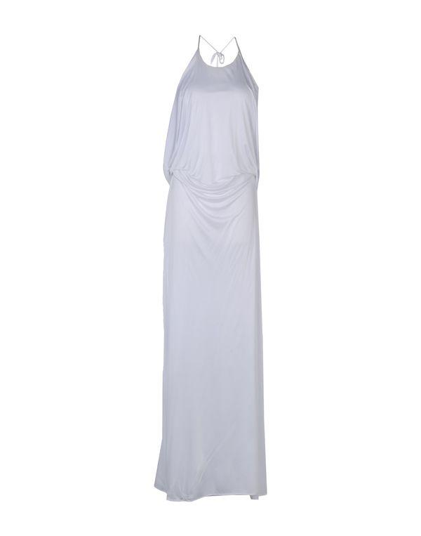 白色 ROBERTO CAVALLI 长款连衣裙
