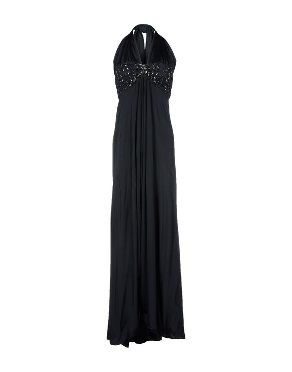 黑色 BLUGIRL BLUMARINE 长款连衣裙