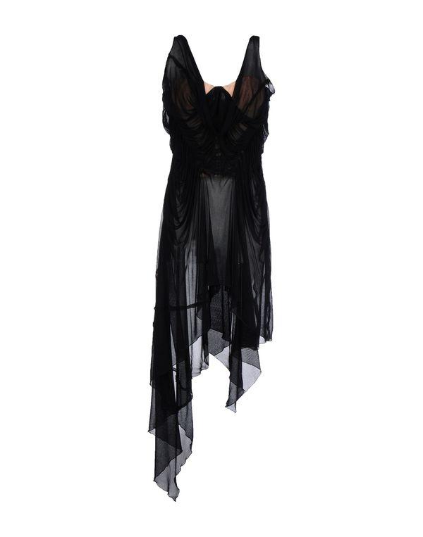 黑色 JEAN PAUL GAULTIER FEMME 短款连衣裙