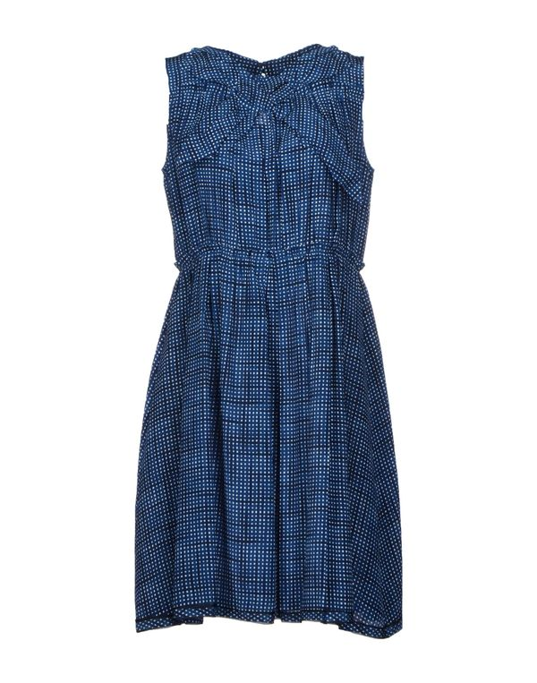 蓝色 MARC JACOBS 短款连衣裙