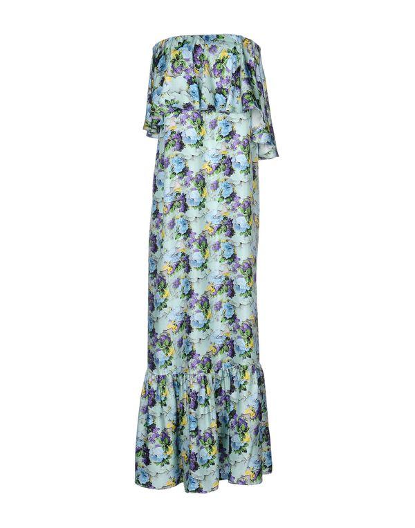 蓝绿色 MSGM 中长款连衣裙