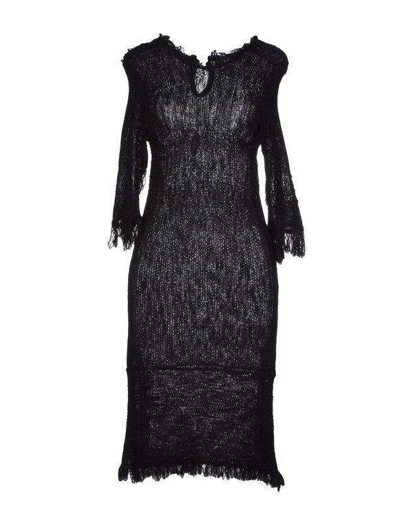 黑色 ISABEL MARANT 及膝连衣裙