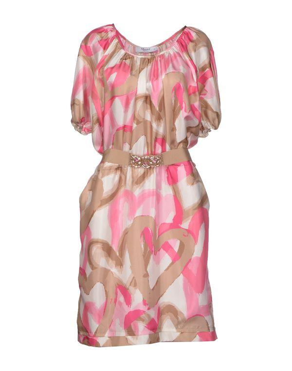 粉红色 BLUGIRL BLUMARINE 及膝连衣裙
