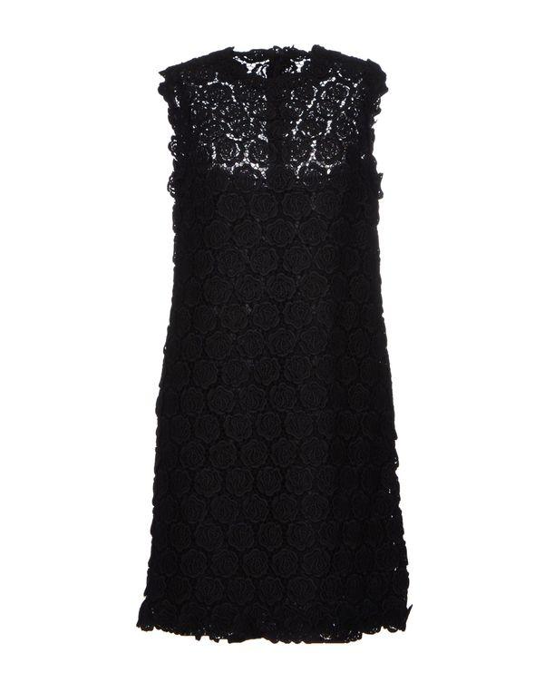 黑色 VALENTINO 短款连衣裙
