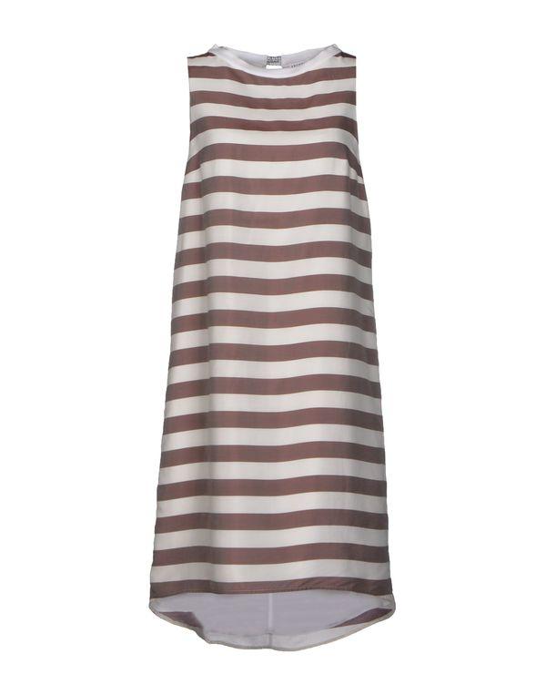 鸽灰色 BRUNELLO CUCINELLI 短款连衣裙