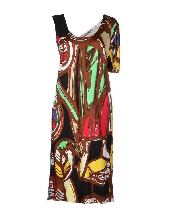棕色 BALENCIAGA 及膝连衣裙