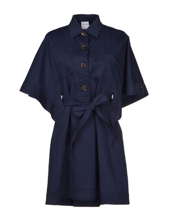 深藏青 REDVALENTINO 短款连衣裙