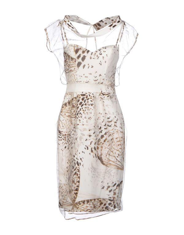 象牙白 BLUMARINE 短款连衣裙