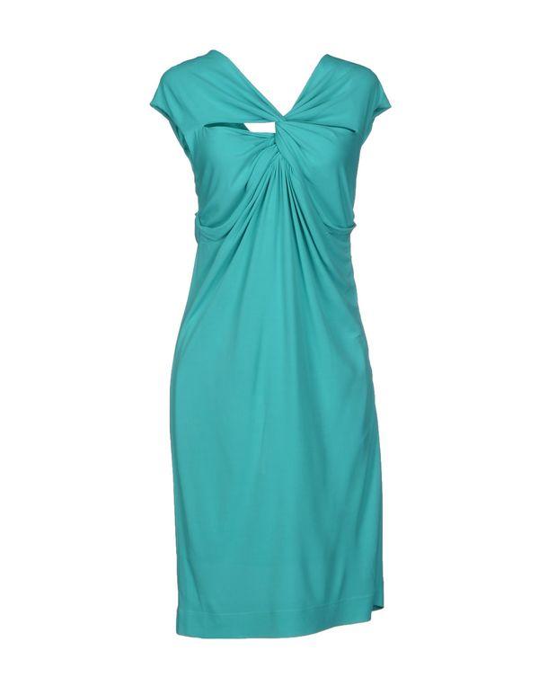 蓝绿色 M MISSONI 短款连衣裙