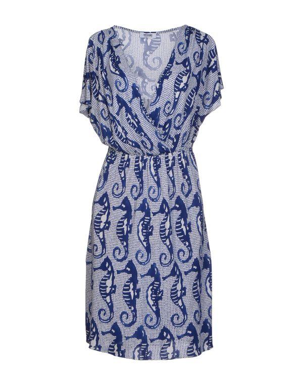石青色 MOSCHINO CHEAPANDCHIC 及膝连衣裙