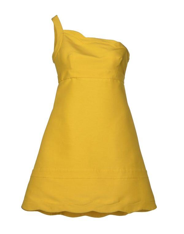 黄色 VALENTINO 短款连衣裙