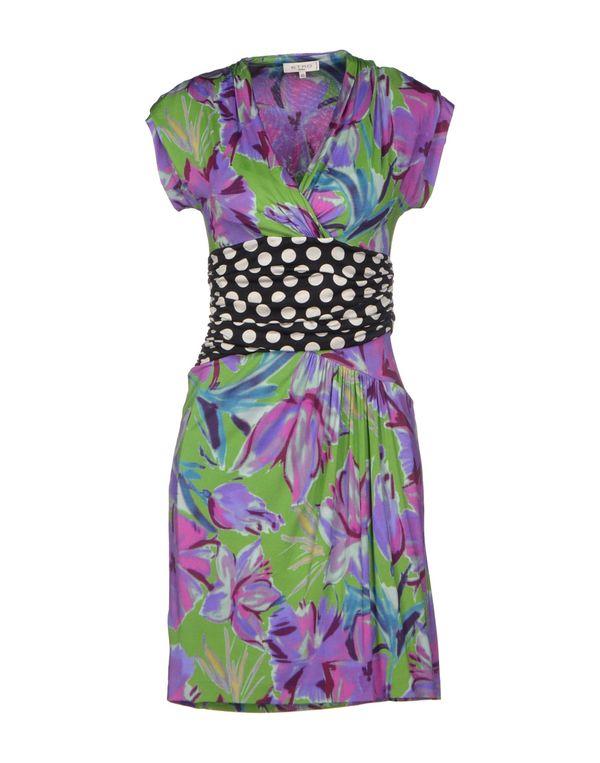 绿色 ETRO 短款连衣裙