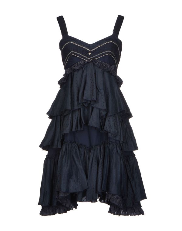 深藏青 HIGH 短款连衣裙