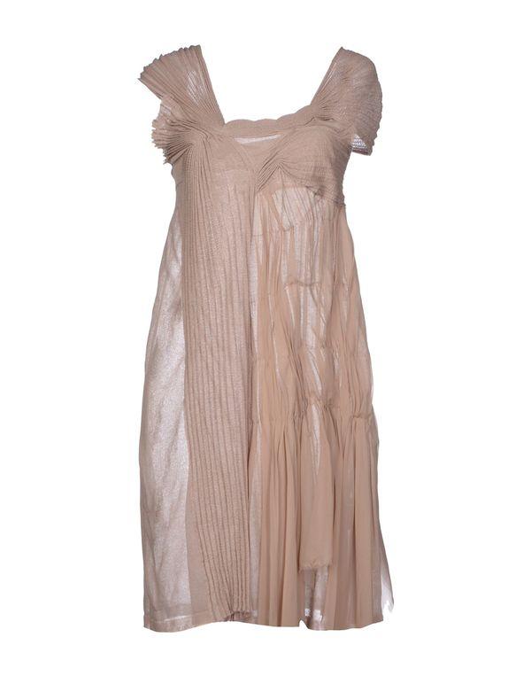 鸽灰色 ANTONIO MARRAS 短款连衣裙