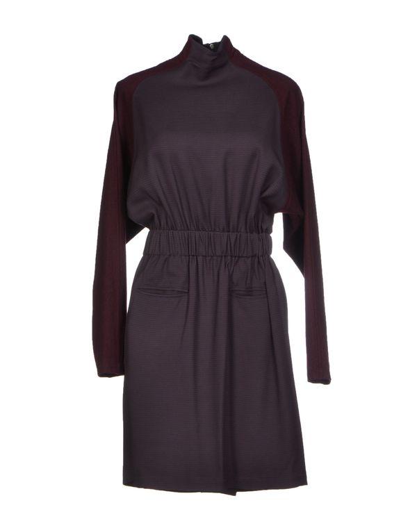 深紫色 DAMIR DOMA 短款连衣裙
