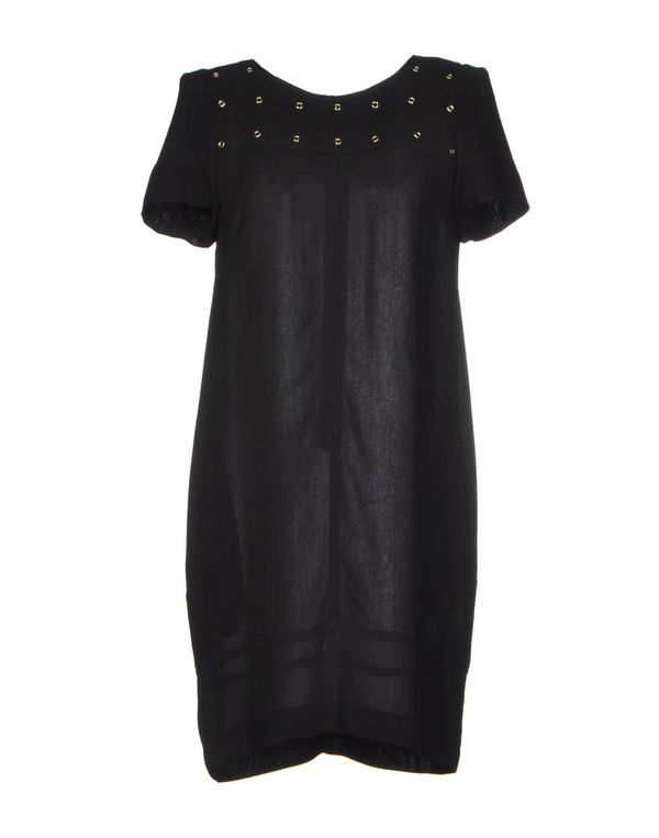 黑色 ATOS LOMBARDINI 短款连衣裙