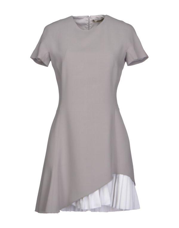 灰色 VICTORIA BECKHAM 短款连衣裙