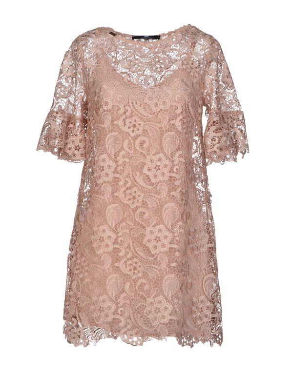 裸色 ELISABETTA FRANCHI 短款连衣裙