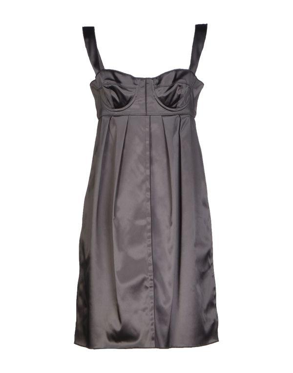 铅灰色 DOLCE & GABBANA 短款连衣裙