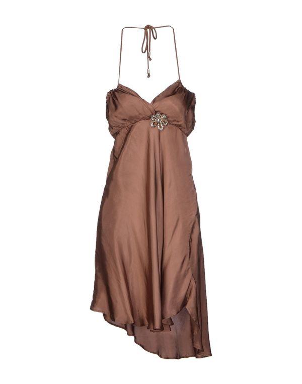 棕色 LIU •JO JEANS 短款连衣裙