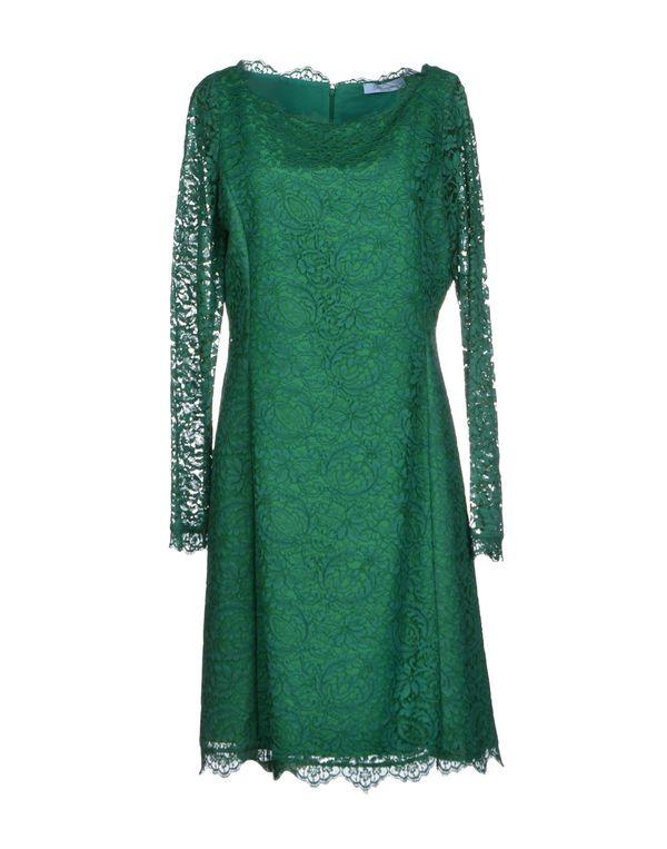绿色 BLUMARINE 短款连衣裙
