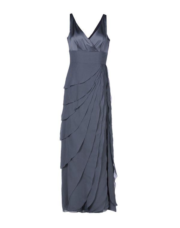 灰色 ARMANI COLLEZIONI 长款连衣裙