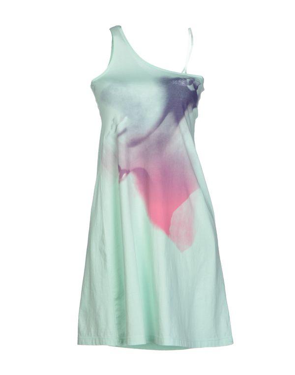 蓝绿色 DIESEL 短款连衣裙