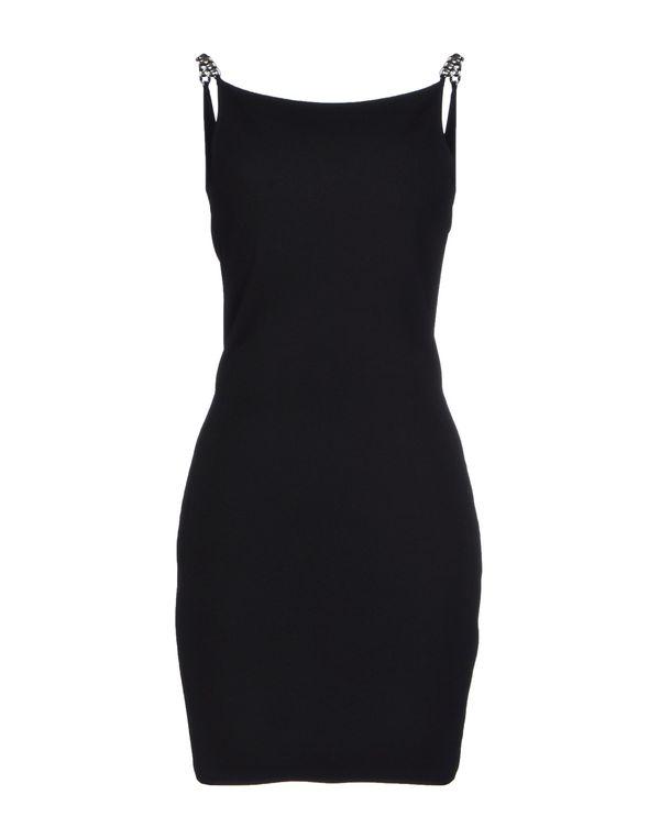 黑色 SAINT LAURENT 短款连衣裙