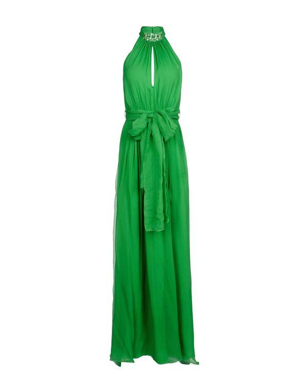 绿色 BLUGIRL BLUMARINE 长款连衣裙