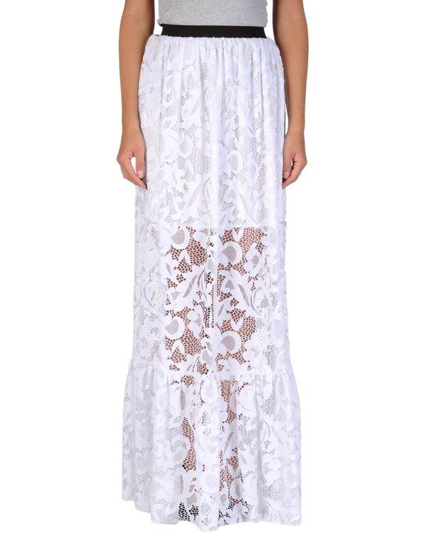 白色 MSGM 长裙