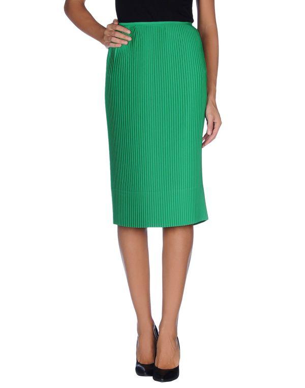 绿色 JIL SANDER 半长裙