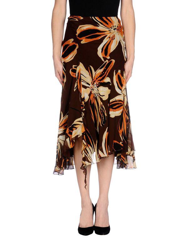 深棕色 MARIA GRAZIA SEVERI 半长裙