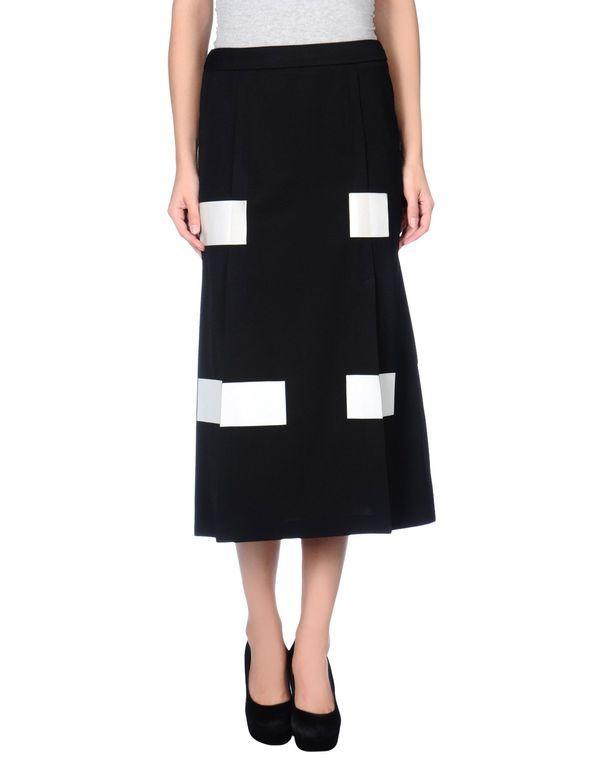 黑色 KENZO 半长裙