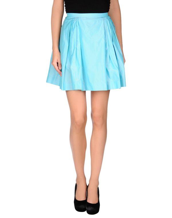 中蓝 MSGM 及膝半裙