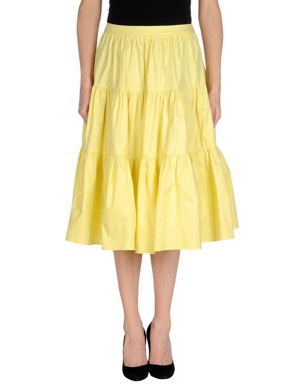 黄色 REDVALENTINO 半长裙