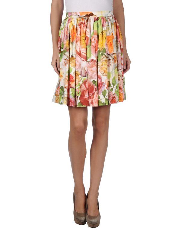 米色 BLUGIRL BLUMARINE 及膝半裙