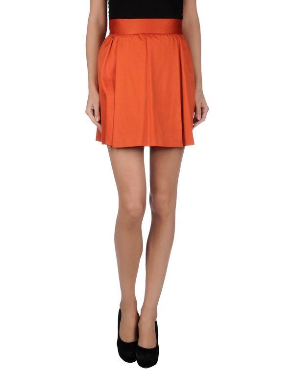 橙色 REDVALENTINO 超短裙