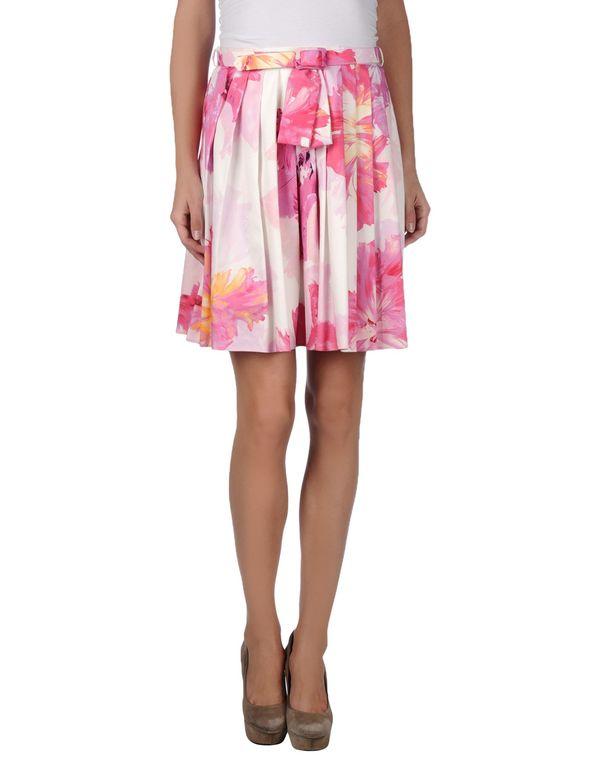 白色 BLUGIRL BLUMARINE 及膝半裙