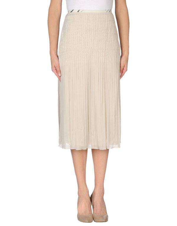 淡灰色 CLASS ROBERTO CAVALLI 半长裙