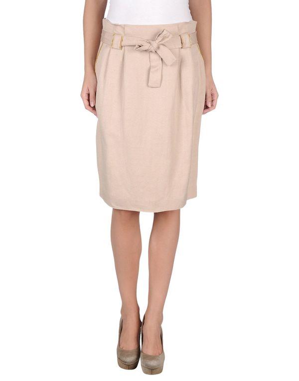 沙色 ANNA MOLINARI 及膝半裙