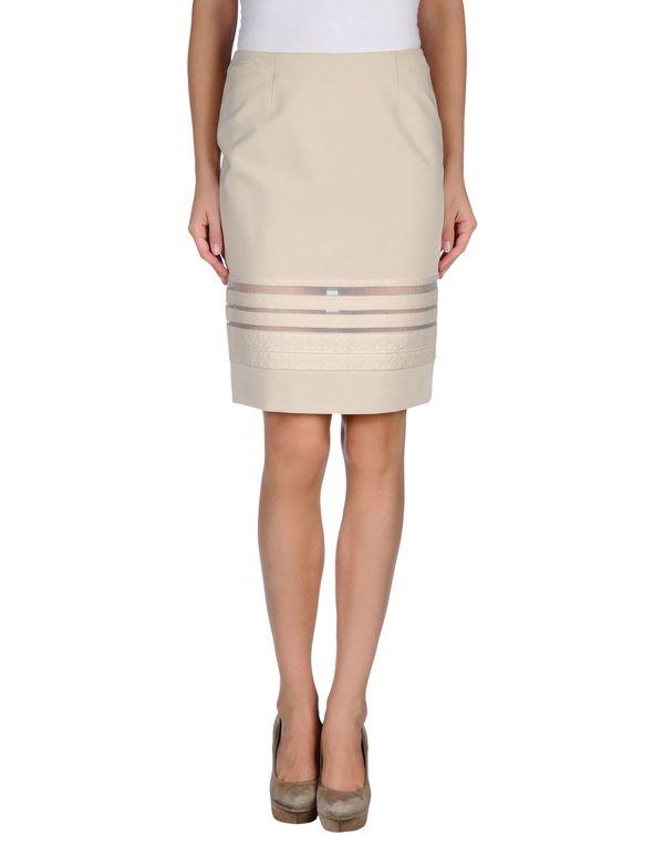 淡灰色 BLUMARINE 及膝半裙