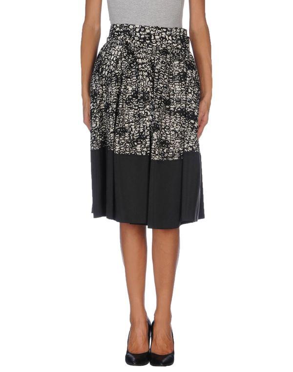 黑色 BALENCIAGA 及膝半裙