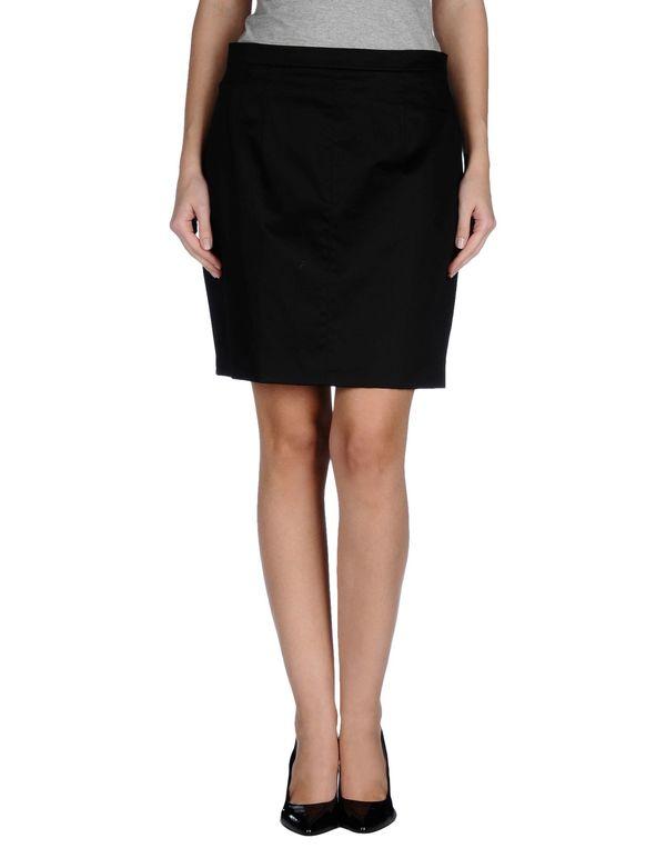 黑色 D&G 及膝半裙