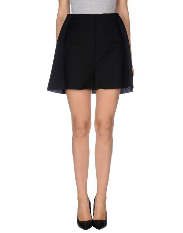 黑色 BALENCIAGA 超短裙