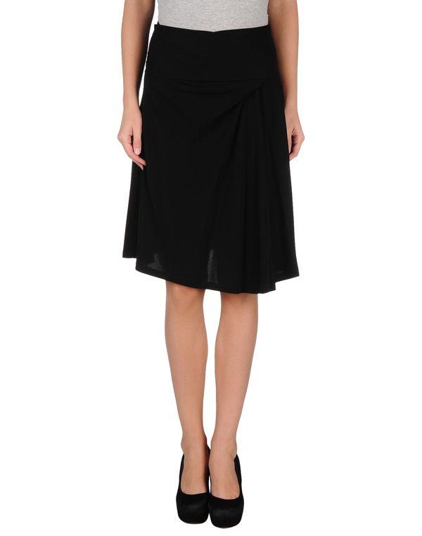 黑色 BALENCIAGA 半长裙