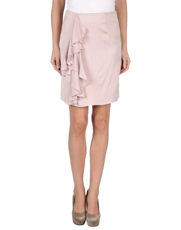 粉红色 REDVALENTINO 及膝半裙
