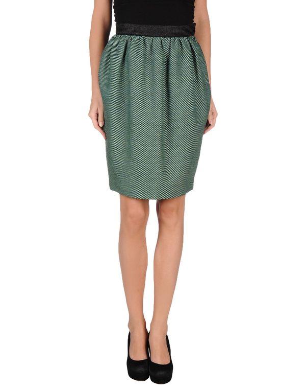绿色 M MISSONI 及膝半裙