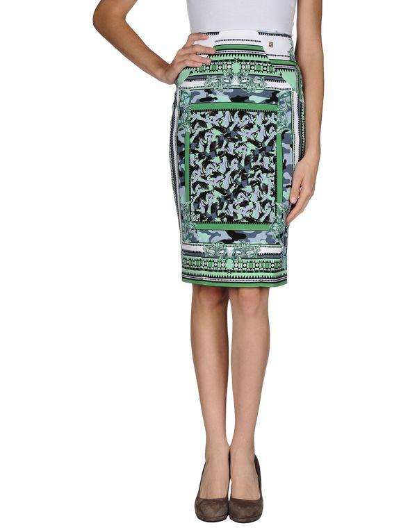 绿色 VERSACE COLLECTION 及膝半裙